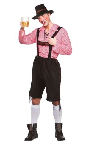 Plus size Bavarian Party Guy costume